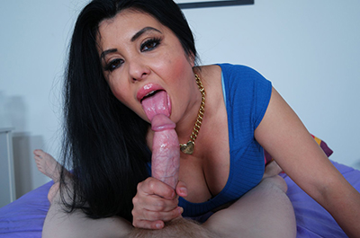 Jaylene Rio plays with your cock at ClubTug.com