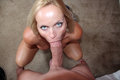 Milf is a Cum Freak at ClubTug.com