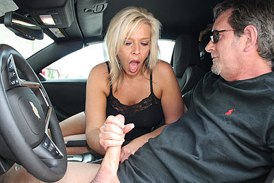 Mom Carey Learns Stick Shift at ClubTug.com