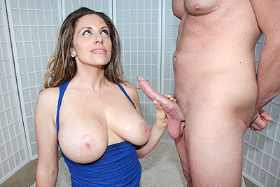 Sienna Lopez gets blasted with jizz at CumBlastCity.com