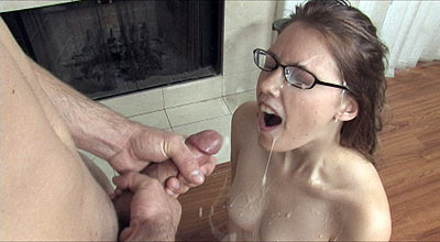Teen Facial Explosion at CumBlastCity.com