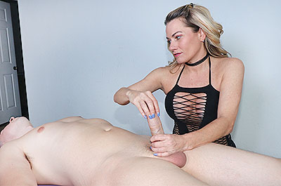 Allura Skye - Tease His Tip at FinishHim.com