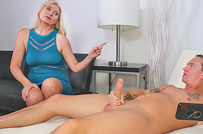 Discipline blowjob at FinishHim.com