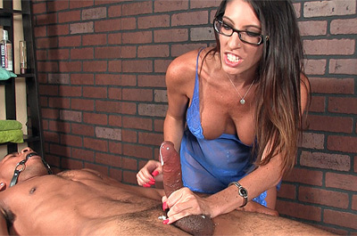 Insane Ruined Orgasm with Dava Foxx at MeanMassage.com