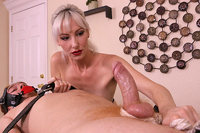 Jane Latex: Tied, Teased and Tortured at MeanMassage.com