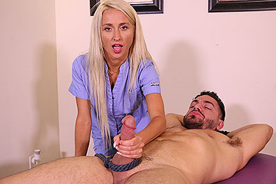 Misha Mynx: Unhappy Endings at MeanMassage.com