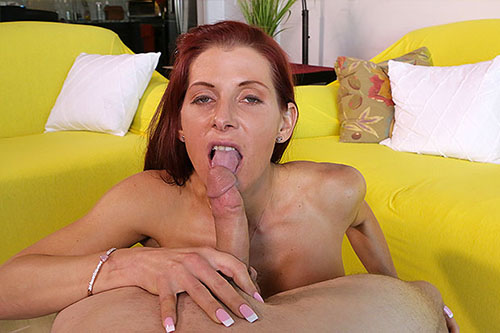 MILF Suck Job - Gabby Lamb at Over40HandJobs.com