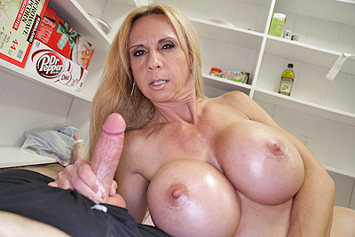 Brooke Tyler - Fuck My Juggs at Over40HandJobs.com