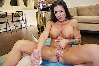 Simone G: Muscle Milked  at Over40HandJobs.com