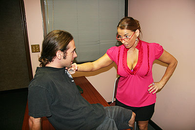 Stacie Starr Makes Joey Erupt at Over40HandJobs.com
