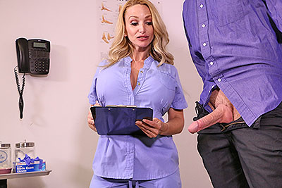Viagra Overdose - Nurse Billi Bardot at Over40HandJobs.com