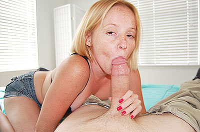 Alyssa Hart POV handjob at TeenTugs.com