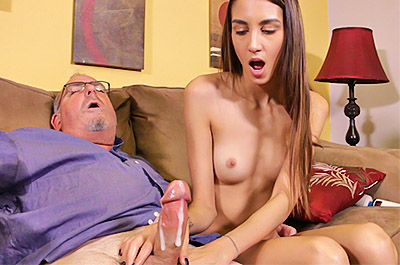 My Step Dads a Jerk - Natalia Nix at TeenTugs.com